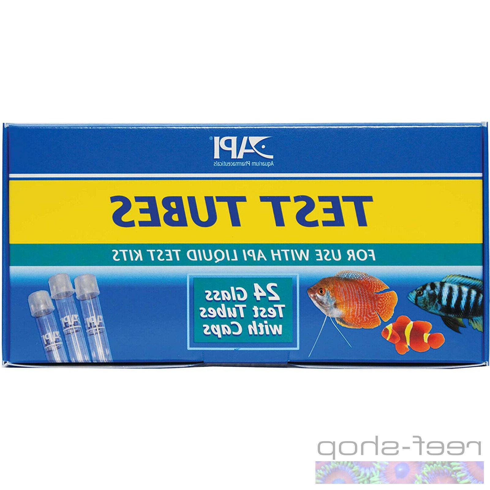API Replacement Test Tubes for Aquarium Liquid Test Kits 24c