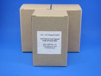 test kit 300 tests glass fiber sample