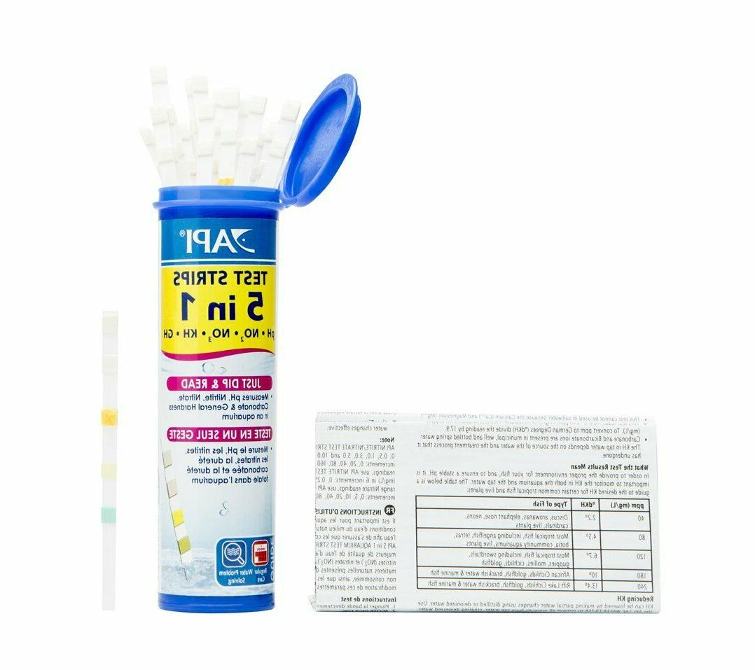 API TEST STRIPS / Saltwater Aquarium Test Strips Aquarium
