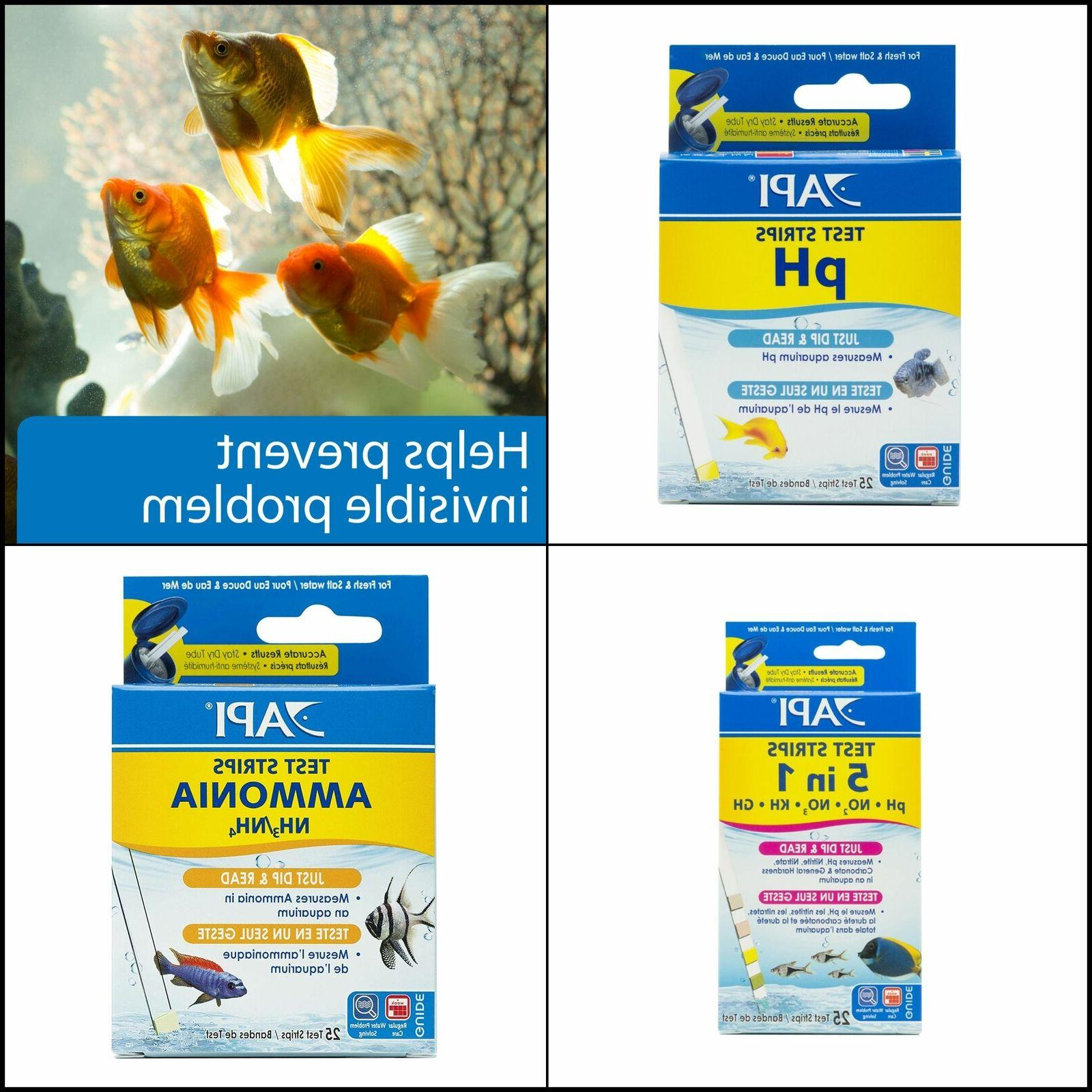 test strips freshwater saltwater aquarium test strips