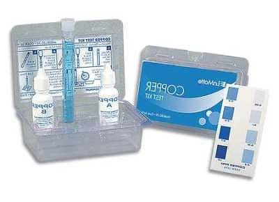 LAMOTTE 3619 Water Testing Kit,Copper,0.05 to 1.0 PPM
