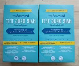LOT OF 2 HAIRCONFIRM 10-14 Panel Drug Test / Hair Collection