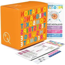 PREGMATE Ovulation and Pregnancy Test Strips Combo Predictor