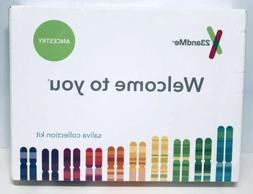 23andMe PERSONAL GENETIC SALIVA COLLECTION KIT DNA ANCESTRY