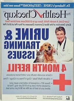 Pet Health Checkup at Home Test Kit-4 Month Refill -urinatin