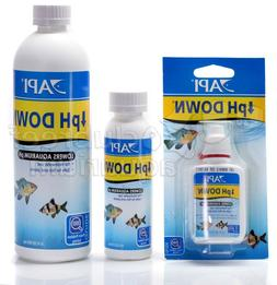 pH Down Liquid Treatment to Lower Fish Aquarium Water pH API
