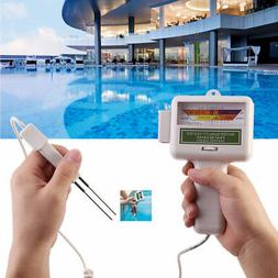 Digital Monitor Ph Water Tester Quality Analysis Chlorine Sw