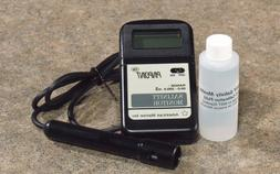 American Marine PINPOINT Salinity Monitor + Calibration Flui