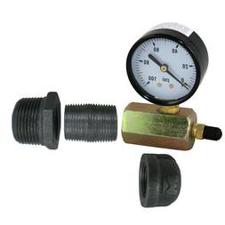 Pressure Test Kit for PEX GUY Stainless Steel or Classic Rad
