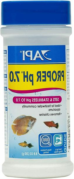 API PROPER pH 7.0 Freshwater Aquarium Water pH Stabilizer 8.
