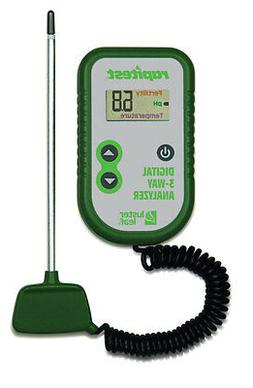 RAPITEST 3 in 1 DIGITAL pH, FERTILITY, THERMOMETER SOIL GARD