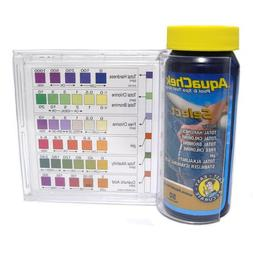 AquaChek Select 7-in-1 Pool Spa Test Kit w/ Plastic Guide &