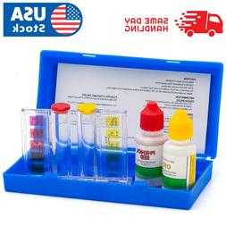 Swimming 2 Way Liquid Test Kit - Ph & Chlorine Levels For Sw