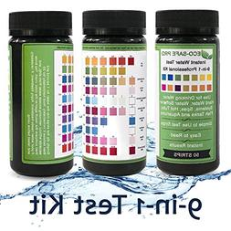 Water Test Strip Kit - 9 in 1, 9-Way for Drinking Water Qual